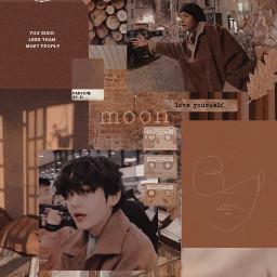 taehyung brown wallpaper brownwallpaper browntaehyung freetoedit