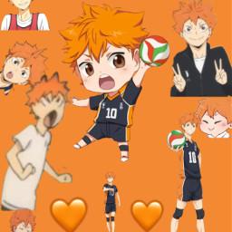 random haikyu shoyo shoyohinata hinata volleyball freetoedit