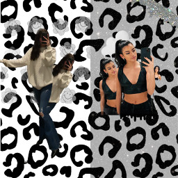 fyp foryoupage cheetah black white blackandwhite dixie charli charlidamelio dixiedamelio damelio indie softie soft dunkin pixiestick sunkin sunrae freetoedit