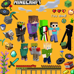 mcyt art minecraft party dreamsmp tubbo karl gamingyoutuber freetoedit