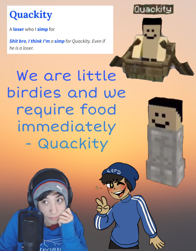 idk quackity appreciation post @georgenotfound @quackity @wizardcat yeet #quackity #mcyts