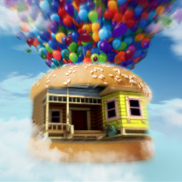 burger hamburger cheeseburger burgerchallenge balloons ircfilltheburger freetoedit