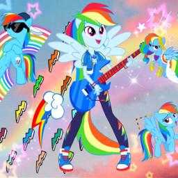 rainbowdash mlp dashie rd mylittlepony mlpfim mlpeg mlpeqg equestriagirls eqg freetoedit srclightingbolts lightingbolts