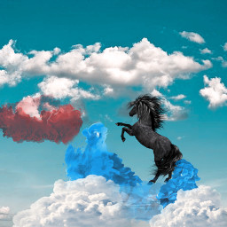 surrealism cloudwalker freetoedit