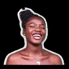 smile woman ftestickers picsart freetoedit