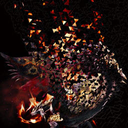 wyverndragon dispersioneffect hdreffect firebackground freetoedit