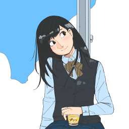 drawing girl freetoedit