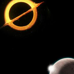 background spacebackground blackhole planetaesthetic aesthetic pretty freetoedit
