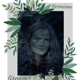 hermione hermionegranger actress emmawatson harrypotter potterhead green freetoedit