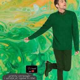 mitchgrassi ptx ptxofficial pentatonix green loveyou idk sassyqueen myqueen ectie-dye tie-dye freetoedit
