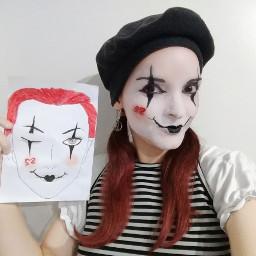 mime mimico mimic makeup makeover frannies2 maquiagem pinturafacial facepainting maquiadora