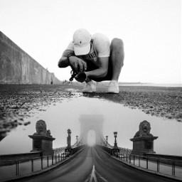 underground photographer pudlle bridge