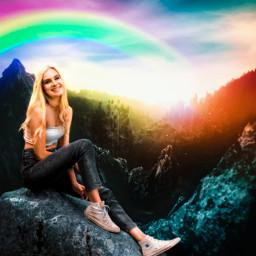 varunarts girl visualart imagination blend