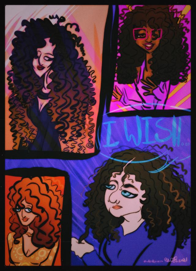 I wish... to have beautiful defined curls like everyone else.  I actually love how this came out-   Art by Hollipolliyozza   https://linktr.ee/hollipolliyozza  Like my Art? Subscribe to my YouTube channel: https://www.youtube.com/c/Hollipolliyozza  ::::::::::::::::::::::::::::::: :Tags:  Character design, artwork,drawing,doodle,sketch,design,my art, art, artists on PicsArt, PicsArt Artist, wip work in progress  :::::::::::::::::::::::::::::::::::::::::::::::::::::: ___________________________ ::::::::::::::::::::::::::::::::          Follow them           @-shro0m-@uh-jos @spacedoutkinnie @r0tt1ng_c4tg1rl @carlyrules007 @mjfansfirst @d00dlemark @scarybeans @chickenugget232666 @-creati @neon_citrus @Dr_uwu  @animefan1214 @blueskiez @pepper_mint_panda @glqssy_tears @slcdxncing @princessheatherr @colanotpepsi @cattycantyready @katie_draws @peachesthefurrie @stephanieirene17 @weeb_muffin @k01dc0s  @lani_jade5 @hcdes @juicethegoose @zero_expectations @esotericaa  @shickjey @sketchesofholli @vanmuffin @hopeless_esper @creepypasta_fan07 @boop_drawz @bcywithluv @ilysfmeli @nemoloveofficial @offmailx @wqtermelcnedits- @fluff_skull @cryptidkomaeda @hunnii_bee @0bscera @artist_noor @peace_love_horror @aliens_51  @deadx_xinside @the_cinna_nom_bun @underrated_yungblud @zo-zo_cat34 @blissxful_billie @offmailx @mikestrology @fennexxfoxcreations @hesaidtothesky @bcywithluv @universalsouls_art @sentientskeleton @glynnis-annetaylor  @plvm_blxssxm @soulytheartist @faded_one @annelep @mrmango_ @r0ttingpumpkins @justacatto @unlit_artist @materwelone @iiamchill @meloneskidneys @couple_goalzz @clownbb @pa  @tourmaline_kitten @-_anqel_ @krazykreations919 @henleyberry @sunni_bby @r0ttingpumpkins @bahari_blue @Hollipolliyozza @Holiztridodi @wctermelon- @van_halen @a_vibing_duck @koronba @-skincqre @blacklivesmatter_art @123gigi321 @_mrin918 @blood-feast @black_girl_problems @milkyblxssxms @m4rsbars @-_-memes-_- @sunni_samrara08 @xx_eva_uwu_xx @06_Emma_06 @undertale-frans @xx-kitty-kat-girl-x
