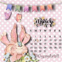 bunny srcmarchcalendar2021 marchcalendar2021