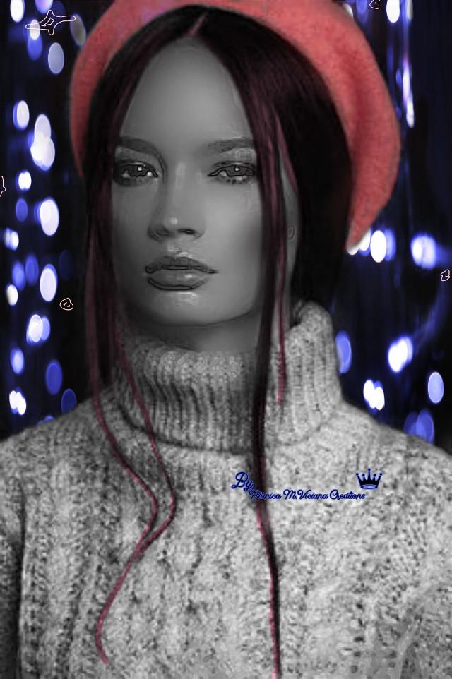 Portrait ⭐ #portrait #efects #beautify #cute #mask #editbyme