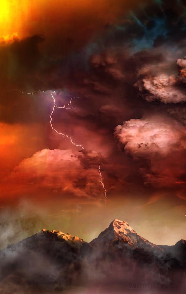 -The Storm Before The Calm- @doctorswithborders #doctorswithborders #mellogypsy #fantasyart #interesting #fantasy #art #freetoedit #madewithpicsart #picsart