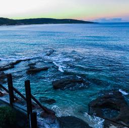 freetoedit sea ocean beach sunset