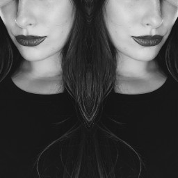 double blackandwhite