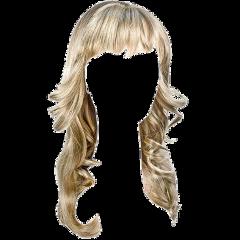 hair blonde blond curtainbangs layers freetoedit