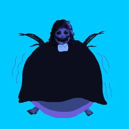 agatha darkdeception darkdeceptionagatha blueberry willywonka willywonkaandthechocolatefactory freetoedit