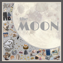 planet niche moodboard moon freetoedit
