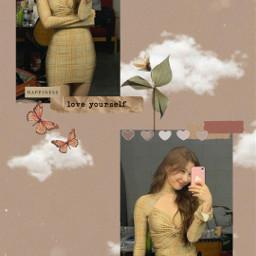 kpop itzy itzychaeryeong chaeryeong chaeryoungitzy cute girl aesthetic wallpaper kpopaesthetic kpopedit itzyedit brownaesthetic freetoedit