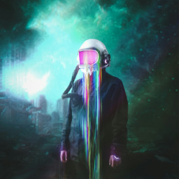freetoedit isa_contest glitch astronaut galaxy