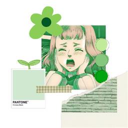 mimosas mimosavermilion blackclover theme anime green freetoedit