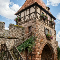 photography travel architecture colorful france alsace