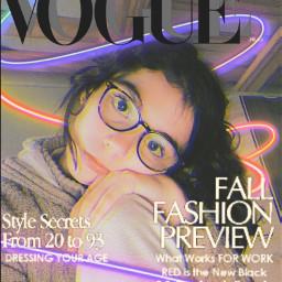 vogue art magazine style freetoedit