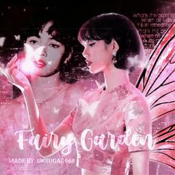 lalisa manoban lisa lalisamanoban blackpink fantasy dark kpopedit pink black kpop angel wings aesthetic light filter fairy girl kpopidol korean singer     uksugar singer
