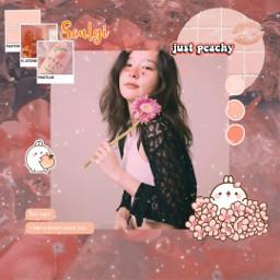 peach paechy pink seulgi icon kpop freetoedit