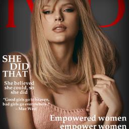 virtuallyindestructible empoweredwomen iwd womensday taylorswift taylor swift swiftie vogue britishvogue freetoedit rccelebrateinternationalwomen'sday