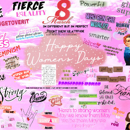 march8th womensday happywomensday freetoedit