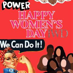 iwd20201 woman internationalwomensday2021 feminism power strong feminist girls freetoedit