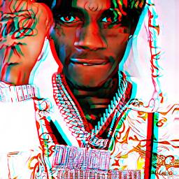 souljaboy soulja sodmg rap hiphop music artist 3d 3deffect animated animation anime cartoon colorful freetoedit