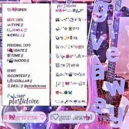 giveaway interesting pink purple instagram bios captions descs emojicombo watermarks pfps pfpicon littlegiveaway thankyou tyfor1300 ilysm mwah