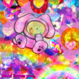 glitter kidcore rainbow bubblegum saturatededit sparkle freetoedit