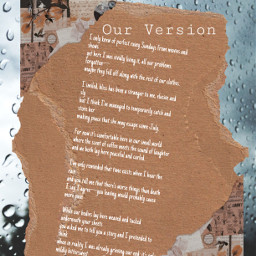 poetry rainyday sunday replay romantic romance freetoedit
