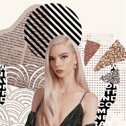 freetoedit anya anyataylorjoyedit anyataylorjoy queensgambit chess peakyblinders actress gorgeous collage aesthetic asthetic vintage vintageeffect retro