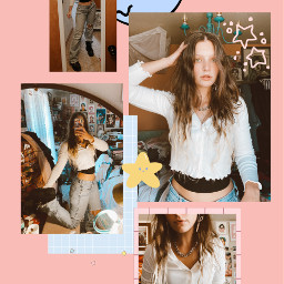 ootd interesting art collage edit photography outfit freetoedit
