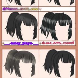 hair gachalife edit freetoedit