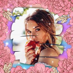 replay picsartreplay flower glow girl glitter light flowers aesthetic rainbow cute kawaii beautiful freetoedit
