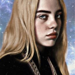 billieeilish blonde sky freetoedit