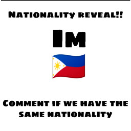 proudfilipina nationality reveal rn thankyou