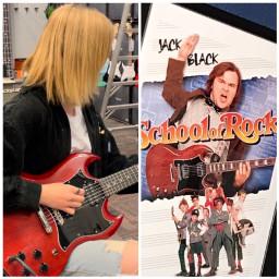 gibsonsg schoolofrock jackblack guitarcenter