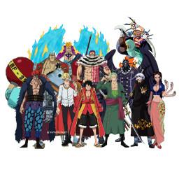 onepiece anime onepieceanime monkeydluffy trafalgardwaterlaw freetoedit