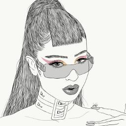 freetoedit drawing outline sketch digitalart
