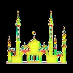 ramadan ramadhan mosque stencil colorful freetoedit